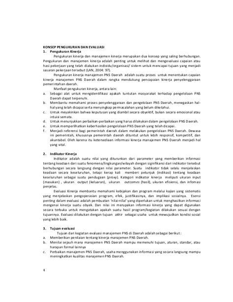 Memahami Evaluasi Kinerja Karyawan Konsep Dan Penilaian Kinerja Perus samiaji pengukuran dan evaluasi kinerja manajemen pns di