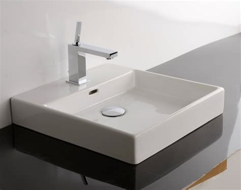 countertop bathroom sinks ws bath collections plain 45a vessel bathroom sink 17 7