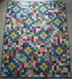 crafter without a cat scrap quilt 2 a christmas gift to
