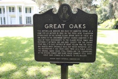 Reese Kitchens Greenwood by Great Oaks Historical Marker