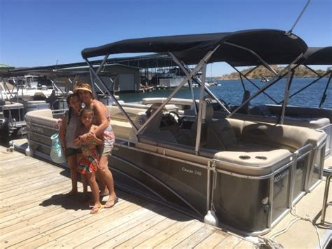 lake pleasant az boat rentals scorpion bay a walkway from land out to the marina picture of