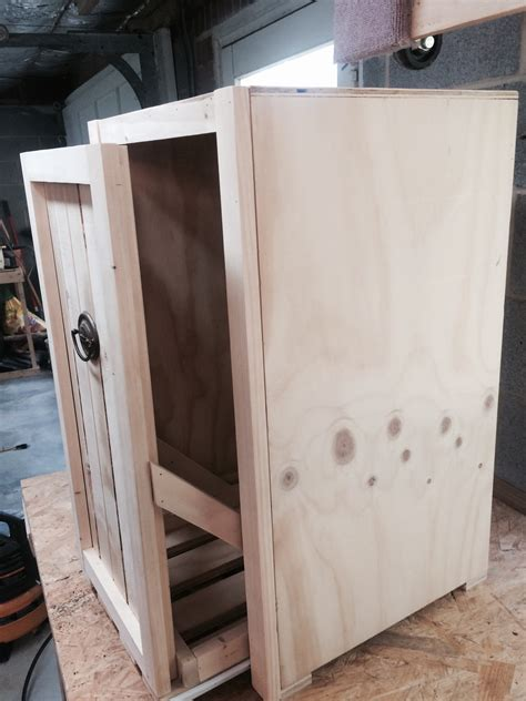 pull  trash  cabinet ryobi nation projects
