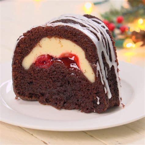 cheese cake cherry cherry cheesecake chocolate bundt cake tiphero