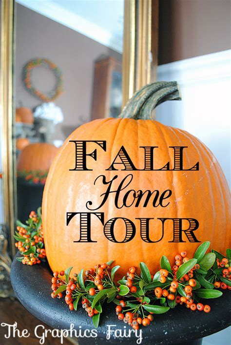 Finding Fall Home Tour with BHG   Our Fall Decor   The