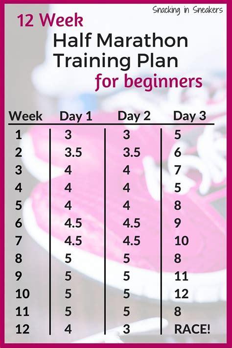 couch to half marathon training best 20 beginner half marathon training ideas on