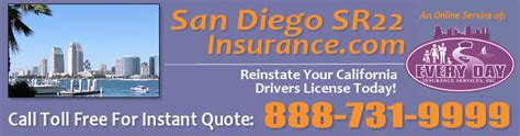 San Diego SR22 Insurance.com   SR22 Filing insurance for