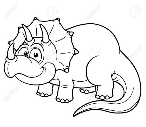 dinosaur coloring book dinosaur drawing vector illustration of