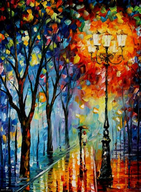 paint dream the fog of dreams palette knife oil painting on canvas