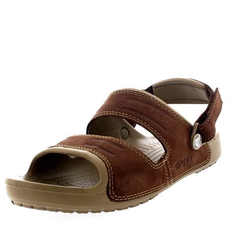mens lightweight sandals mens crocs yukon two open toe lightweight