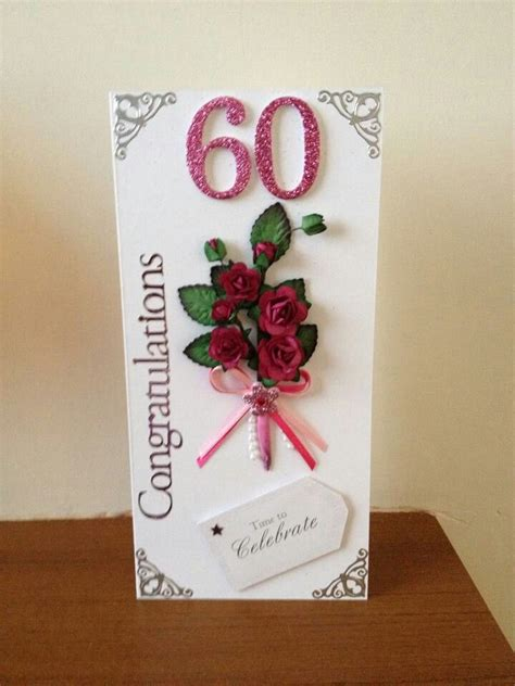 Handmade 60th Birthday Card Ideas - 17 best images about 60th cards on for