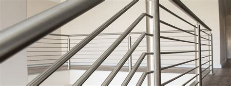 Metal Balustrade Custom Made Stainless Steel Balustrades Systems Steel Studio