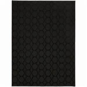 black accent rug garland rug sparta black 5 ft x 7 ft area rug cl 10 ra 0057 15 the home depot