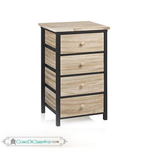 cassettiera 4 cassetti cassettiera quot industry quot con 4 cassetti in legno struttura
