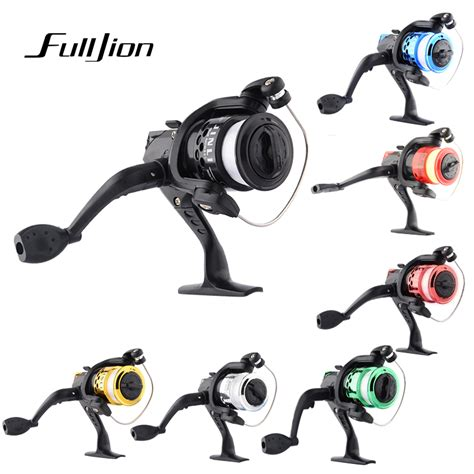 Rainbow 1pcs Colored Fly Fishing Reels With Aluminum Alloy 5 1pcs fishing reels with fishing line bait reel aluminum spinning fishing reel high