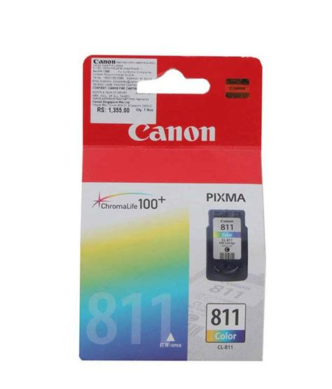 Catridge Tinta Canon 811 Warna canon cl 811 inkjet cartridge buy canon cl 811 inkjet cartridge at low price in india