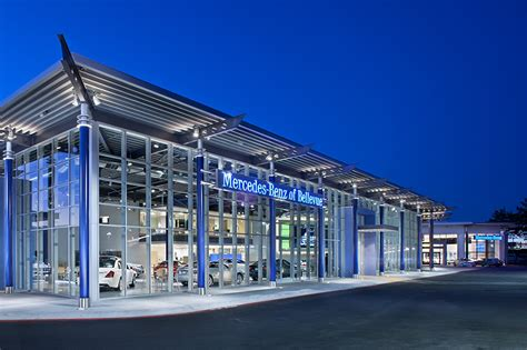 mercedes showroom exterior exposed steel structure architecture pixshark com