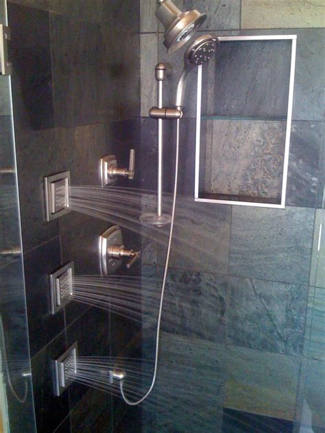 Walk In Shower Heads by Shower Custom Shower Walk In Shower Remodel