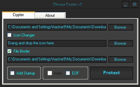 chrome keylogger chrome crypter v2 0 hacker s arena