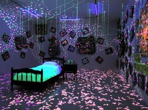 black light bedrooms cool decor homedecor home decor ideas
