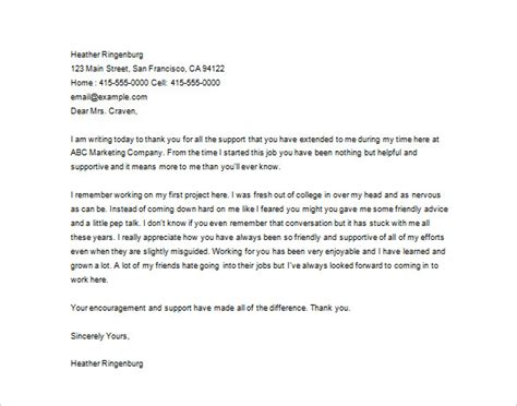 thankful letter to 23 thank you letter to templates free sle