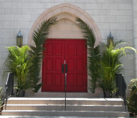 Palm Sunday Decorations Church by Palm Sunday Worship 1 April 2012 The Church Of The