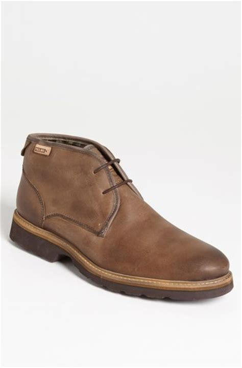 pikolinos boots mens pikolinos glasgow chukka boot in brown for medium