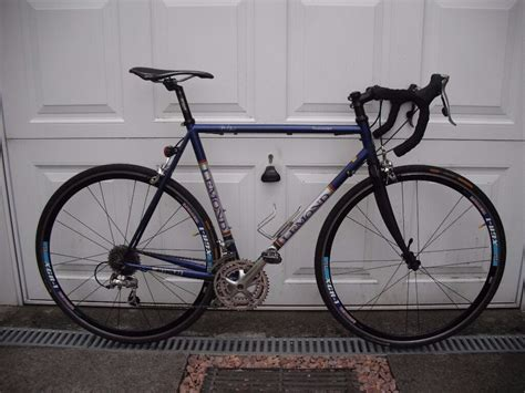 road bike lemond toumalet reynolds  steel frame