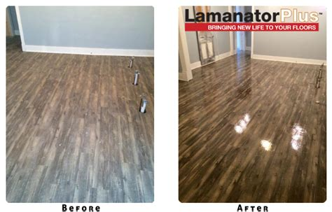 Laminate Flooring Restore Shine by Lamanator Plus Cleans Shines Protects Laminate Floor