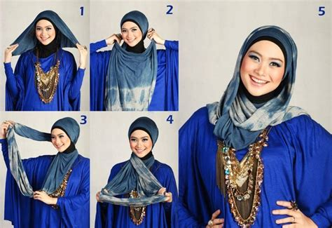 18 tutorial hijab pashmina spandek simple knowledge 17 best images about hijab scarf how to on pinterest