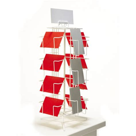 Gift Card Display Stand - a6 counter card display stand buy retail display stands