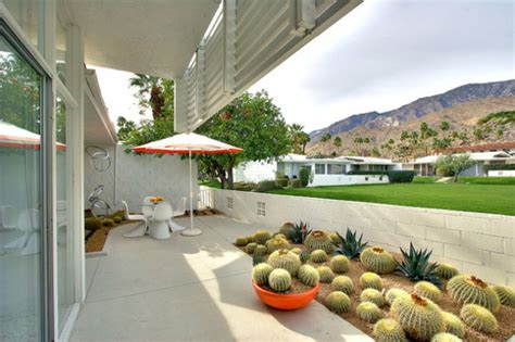 sensational mid century patio designs  improve