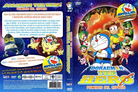 film doraemon como car 225 tula caratula de doraemon the hero pioneros del