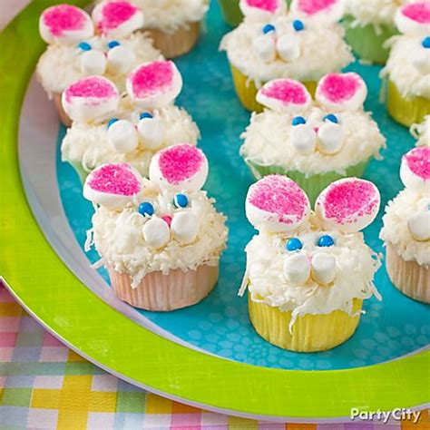 Decorating Ideas For Easter Cupcakes Easter Bunny Cupcake Decorating Ideas Easter Wallpapers