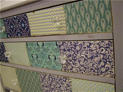 decoupage drawer fronts vintage painted drawers shabby chic patchwork decoupage ebay