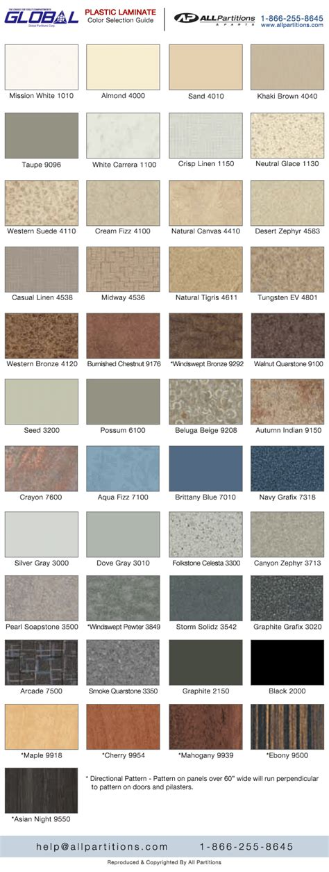 laminate colors plastic laminate toilet partition color chart all partitions
