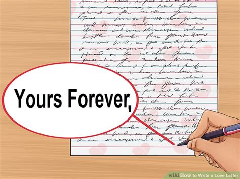 how to write a love letter with sle letters wikihow