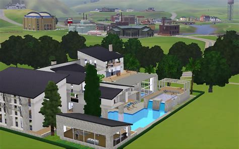 Nice Houses With Pools mod the sims modern giant luxury gorgeous palace