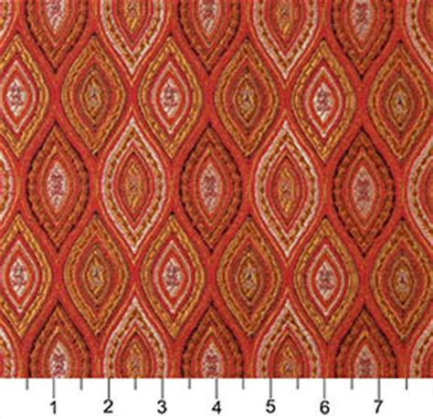 moroccan upholstery fabric beige red and coral abstract teardrop moroccan pattern