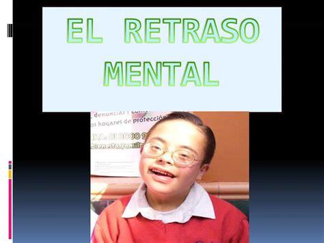 retraso mental imagenes calam 233 o diapositivas el retraso mental y autismo