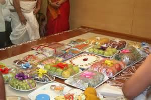 Indian Wedding Tray Decoration Annaprashana Engagement Nichayathartham Seer Decoration