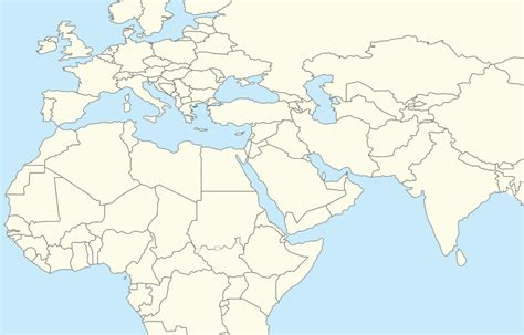 blank map of the middle east europe and middle east blank map www pixshark