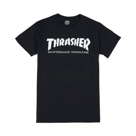 Kaos Tshirt Skate Thrasher Skatemag White thrasher skatemag t shirt black white 39 00 t shirt