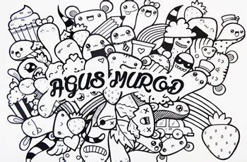 doodle simple nama berwarna kumpulan gambar doodle nama pacar hurus a z