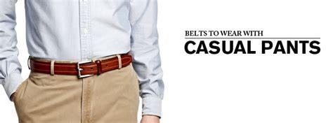 Ikat Pinggang Pria Belt Sabuk Daily Formal Black Jarum Xl tips keren memakai sabuk atau ikat pinggang dengan benar