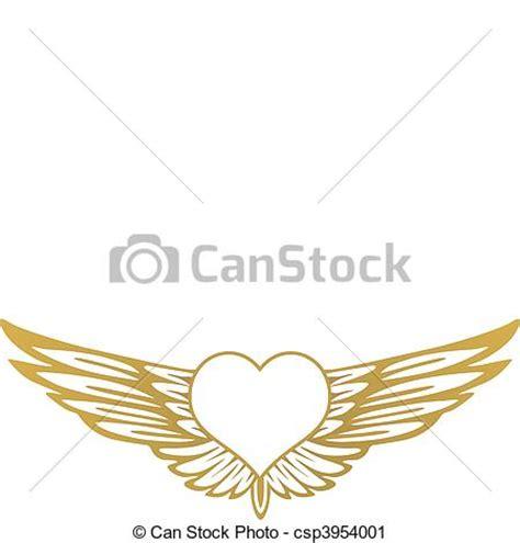 heart wing logo clip art vector clip art online royalty vector clip art of heart with wings csp3954001 search
