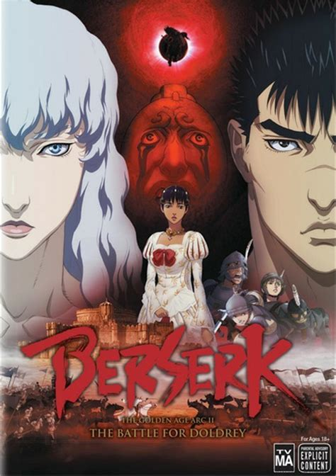 berserk the golden age arc 1 the egg of the king 2012 berserk the golden age arc 2 the battle for doldrey