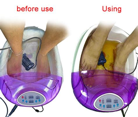 Why Do Foot Detox Baths Turn Brown by What Is The Use Of Detox Foot Spa Machines Vd