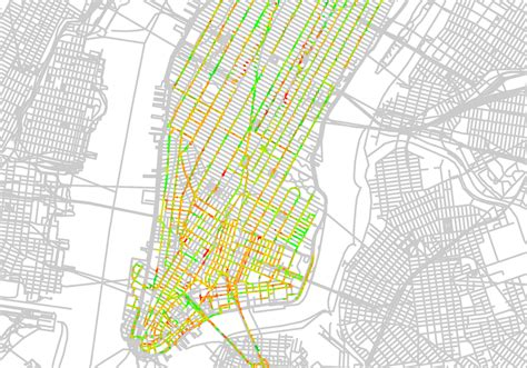 manhattan safety map low stress bicycle network connectivity nj bicycle and