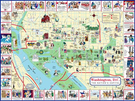 washington dc map of cities washington dc city map washington dc mappery