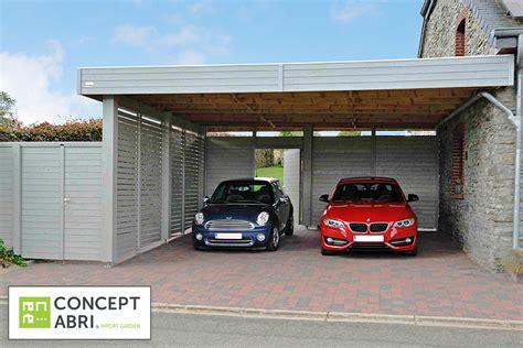 Car Port Maison by Carport Abri De Voiture Contemporain En Bois Concept Abri